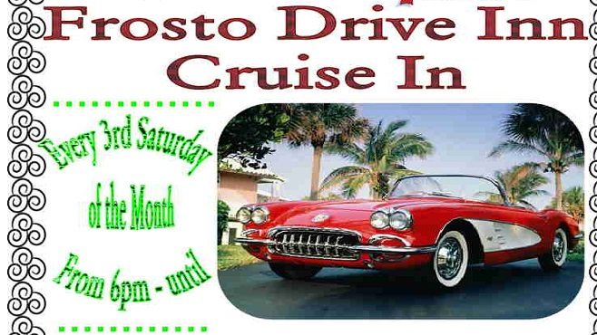 Frosto Drive Inn Cruise In Car Show Mustang Louisianas Real - Antique car show lafayette la