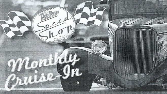 The Pep Boys Speed Shop Monthly CruiseIn Car Show Mustang - Antique car show lafayette la