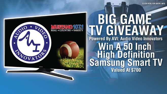 Contest Rules Audio Video Innovators Tv Giveaway Mustang Louisiana S Real Country Lafayette La