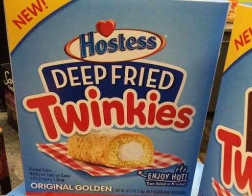 Deep Fried Twinkies now available at Wal Mart